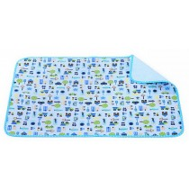 Toddler Waterproof Washable Diaper Changing Mat Pad(Cute Car)-50*70cm