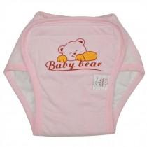 Washable Waterproof Baby Toddlers Pant Newborn Infant Reusable Diaper PINK Bear