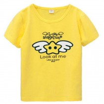 YELLOW Infant Pure Cotton Tee Baby Toddler T-Shirt 110 CM (4-5Y)