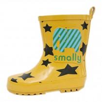 YELLOW Elephant Cute Baby Rainy Day Infant Rain Shoes Toddler Rain Boot 18 CM