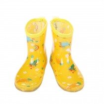 YELLOW Planes Toddler Rain Shoes Baby Rain Boot Rainy Day Wear Rubber Shoes