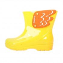 [YELLOW]Wings Rainy Day Wear Toddler Rain Shoes Baby Rain Boot Rubber Shoes