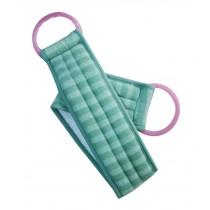 Scrubber Bath Exfoliating Bath Soft Belt Body Bathing Towel(Green)