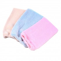 Set of 3 Terry Cloth Bath Wipe Fiber Bath Glove Shower Scrub for Exfoliate
