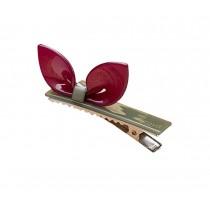 Set of 2 Rabbit Ear Hair Pin Fashion Hair Clip/Hairpin,Red