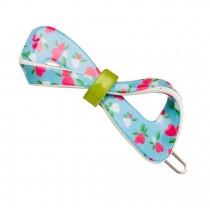 Set of 2 Flower Hair Pin Fashion Hair Clip Creative Hairpin,Blue/Rose