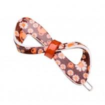 Set of 2 Flower Hair Pin Fashion Hair Clip Creative Hairpin,Orange