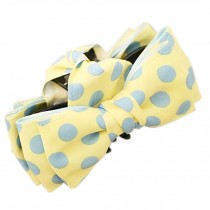 [YELLOW Polka Dots] Sweet Style Hair Claw Hair Pins Beautiful Hair Barrette