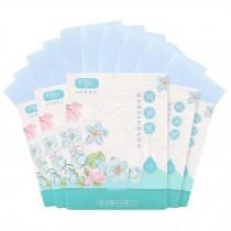 Face Oil Blotting Paper Sheets Blue Oil Control Tissue, 500 Sheets