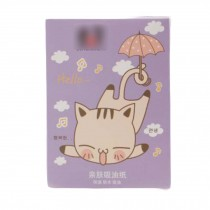 Cute Oil Control Tissue Oil Blotting Paper for Women Girls, 300 Pieces
