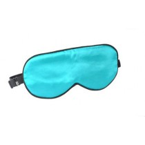 Silk Eye Mask Eye Shade Cover For Sleep With Adjustable Strap SKY BLUE EyeMask