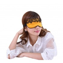 Super Soft Silk Eye Mask Lovely Personality Eyeshade Sleep Eye Mask Elegant GOLD