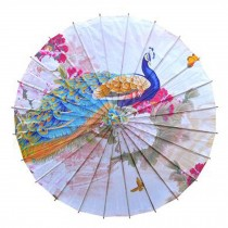 Non Rainproof Handmade Chinese Style Oiled Paper Umbrella 33-Inch Office Gifts