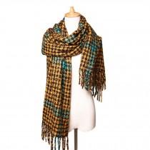 Winter Warm Wool Shawl/Fashion Lovers Scarf/Blanket Scarf/Cozy Large Size Scarf