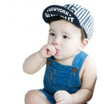 Cool Toddler Boy Baseball Cap Navy Strip Cap