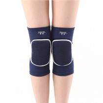 Knee Brace Sleeve for Sports, Yoga, Dance, Arthritis, Joint Pain, Blue(L)
