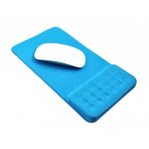 Massage Wrist Mouse Pad Breathable, Blue