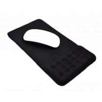 Massage Wrist Mouse Pad Breathable, Black