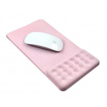 Massage Wrist Mouse Pad Breathable, Light Pink