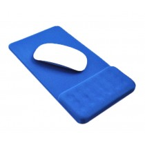 Massage Wrist Mouse Pad Breathable, Deep Blue