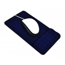 Massage Wrist Mouse Pad Breathable, Royal Blue