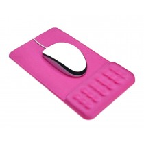 Massage Wrist Mouse Pad Breathable, Pink