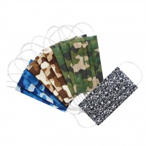 Camouflage Style Dust-proof Adult Disposable Mask for 10 PCS, Random Color