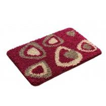 Bedroom Carpet Kitchen Bathroom Non-slip Cotton Door Mat (40x60cm, Triangular)