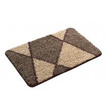 Bedroom Carpet Kitchen Bathroom Non-slip Cotton Door Mat (40x60cm, Camel)