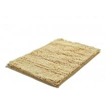 Bedroom Carpet Kitchen Bathroom Non-slip Cotton Door Mat (40x60cm, Beige)