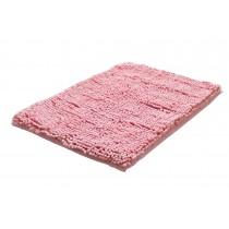 Bedroom Carpet Kitchen Bathroom Non-slip Cotton Door Mat (40x60cm, Pink)