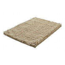 Bedroom Carpet Kitchen Bathroom Non-slip Cotton Door Mat (40x60cm, Light Camel)