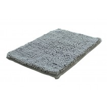 Bedroom Carpet Kitchen Bathroom Non-slip Cotton Door Mat (40x60cm, Gray)
