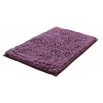 Bedroom Carpet Kitchen Bathroom Non-slip Cotton Door Mat (40x60cm, Purple)