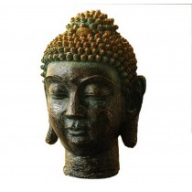 Pastoral Home Furnishing Decor Resin Decoration-Shakya Mani Buddha Head