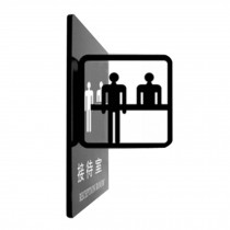 Office Signpost Department Cute Sign Doorplate Decorative Sign [RECEPTION ROOM]