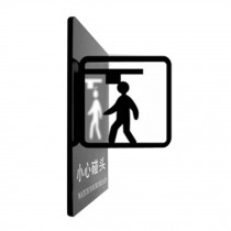 [WATCH YOUR HEAD] Doorplate Decorative Sign Office Signpost Department Cute Sign