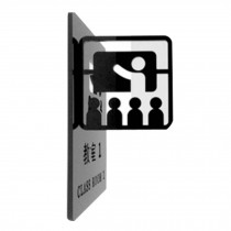 [CLASS ROOM 1] Doorplate Decorative Sign Office Signpost Department Cute Sign