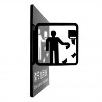 [J] Doorplate Decorative Sign Office Signpost Department Signage Creative Sign