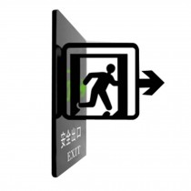 [EXIT] Acrylic Signpost Department Creative Sign Doorplate Warning Sign