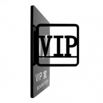 [ROOM VIP] Acrylic Signpost Department Creative Sign Doorplate Warning Sign