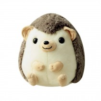 Small Hedgehog Doll Plush Toy Simulation Cushion Sleeping Pillow Great Gift Grey