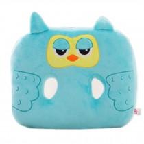 Cute Cartoon Chair Pad Thicker Buttock Protectors Cushion, Blue Owl