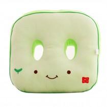 Cute Cartoon Chair Pad Thicker Buttock Protectors Cushion, Green Tofu