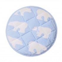 Lovely Cushion Round Chair Pad Tatami Mat Household Cushion Flannel Cushion