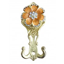 2 Pieces Curtain Flower Decorative Buckles/Holders, NO.6(17*7cm)