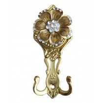 2 Pieces Curtain Flower Decorative Buckles/Holders, NO.8(17*7cm)