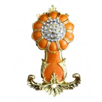 2 Pieces Curtain Flower Decorative Buckles/Holders, NO.9(18*9.5cm)