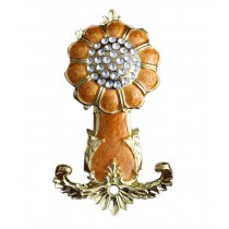 2 Pieces Curtain Flower Decorative Buckles/Holders, NO.10(18*9.5cm)