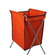 Household Essentials Foldable Laundry Basket (66*40 *35cm) ORANGE